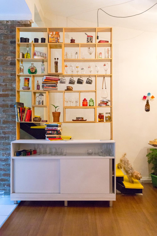 O Mundo L De Casa Dois Projetos Elementar Arquitetura  ~ Divisoria Para Cozinha E Sala