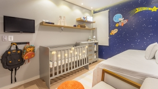 Quarto de Bebê Espacial