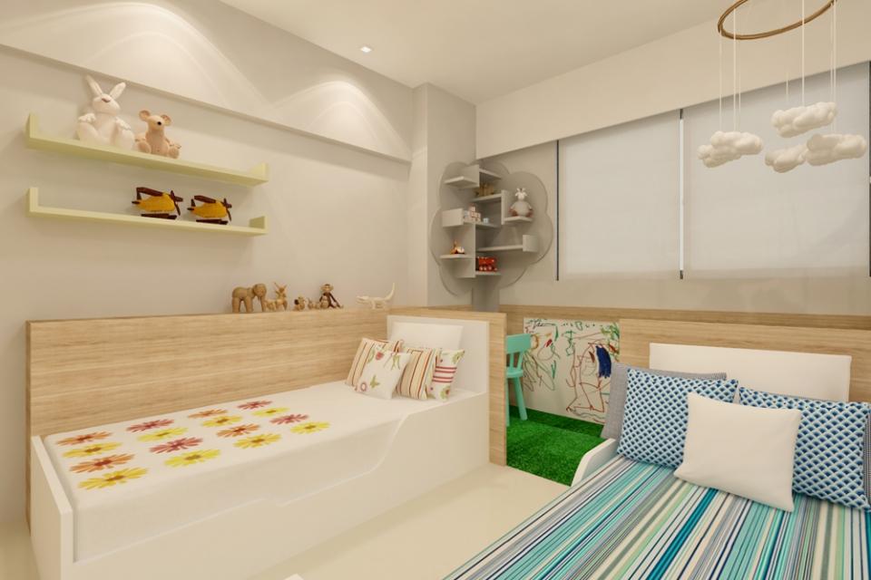 Apartamento Rosarinho Projetos Elementar Arquitetura  ~ Quarto Planejado Recife