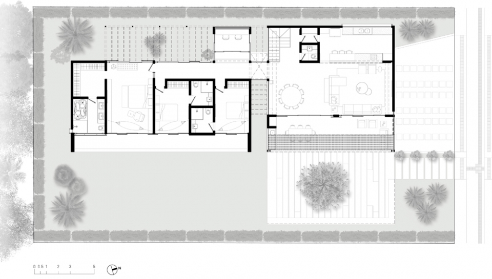 terraco empresarial jardim sul:Casa Alphaville Duo – Projetos – Elementar Arquitetura – Av. Visconde