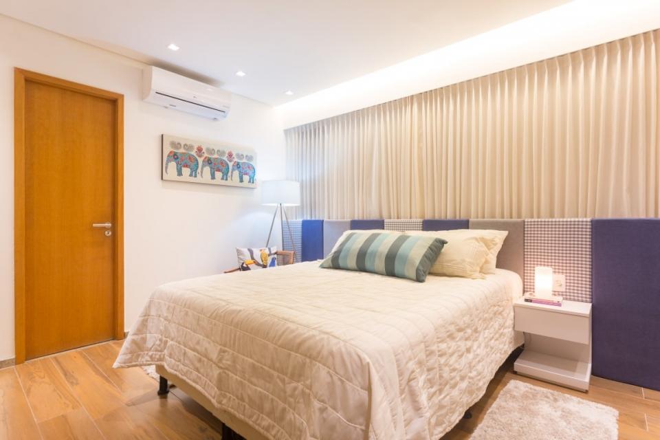 Apartamento Madalena Projetos Elementar Arquitetura  ~ Quarto Casal Funcional