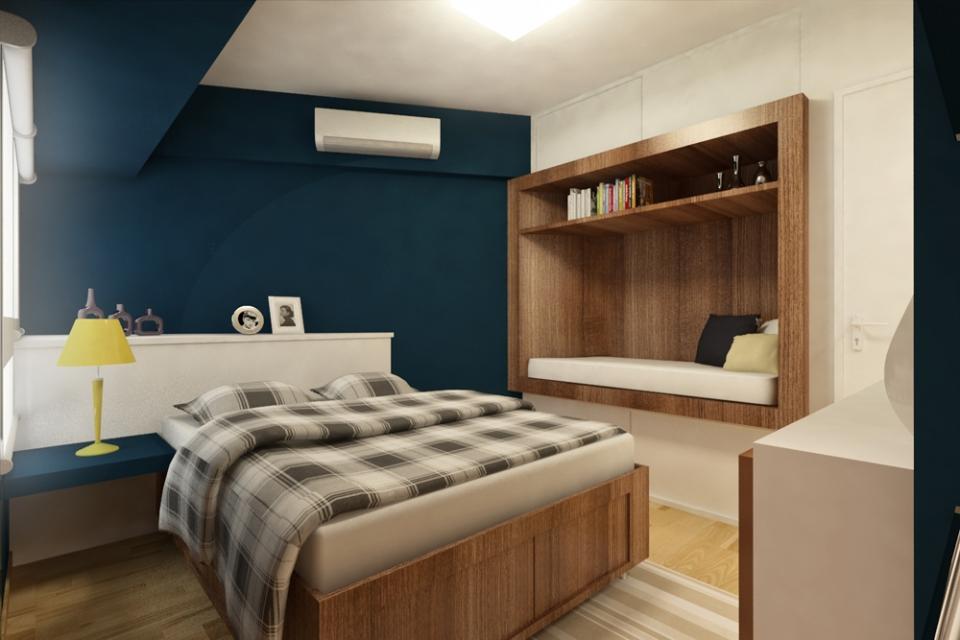 Apartamento Casa Forte  Projetos  Elementar Arquitetura  Avenida Domingos